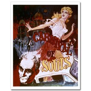 Carnival of Souls original movie poster.