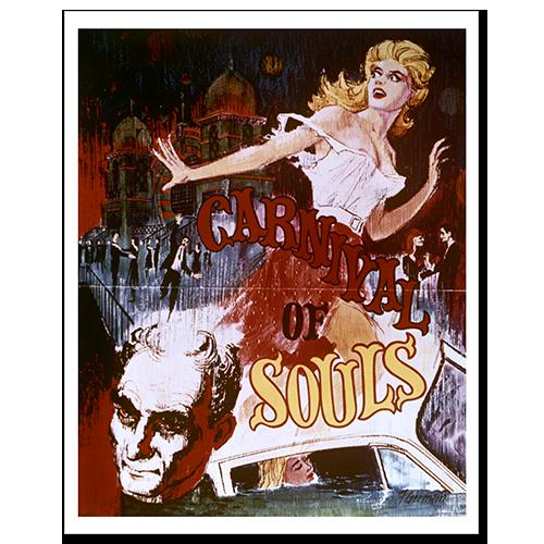 Carnival of Souls original movie poster.